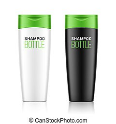 Shampoo bottle template - Shampoo / cosmetic bottle template...