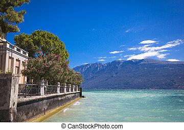Village of Gargnano Lake Garda Italy