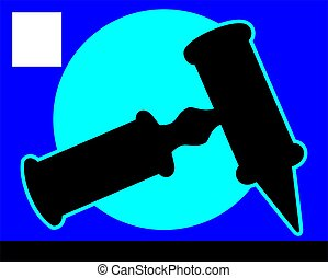 Instrument - Illustration of otoscope using by ENT...