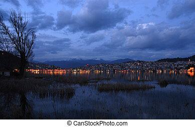 City lights....