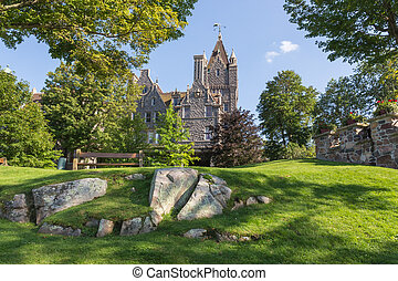 Boldt Castle on the St. Lawrence in