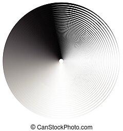 Abstract spirally element Spinning, vortex graphic...