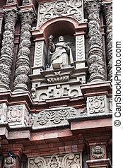 sculpture in a beautiful church - sculpture in a beautiful...