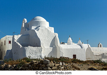 White orthodox church, Mykonos