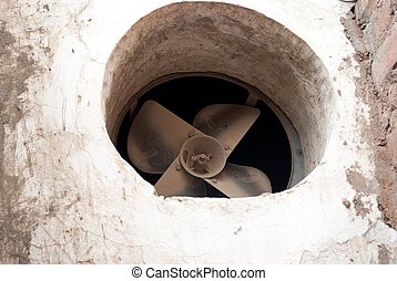 ventilation of a old room
