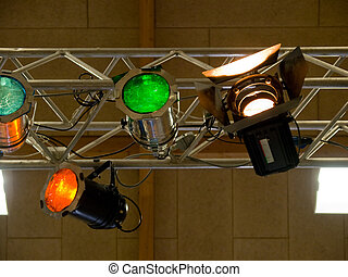 Theater Music Concert Stage Lights - Details of Theater...