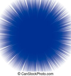Abstract radial starburst background with transparent...