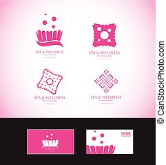 Spa logo - Vector company logo icon element template spa...