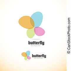 Butterfly spa beauty logo