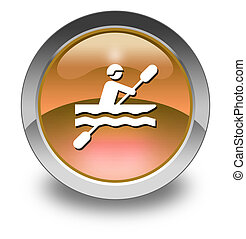 Icon, Button, Pictogram Kayaking - Icon, Button, Pictogram...