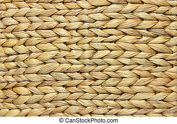 Corn Husk Background - Natural handmade woven corn husk...