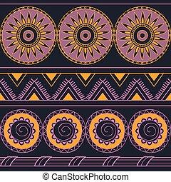seamless geometric pattern - Hand drawn geometric seamless...