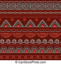 seamless geometric pattern - Hand drawn geometric seamless...