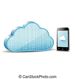 Smartphone cloud computing
