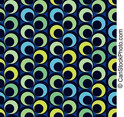 Abstract seamless pattern with circles
