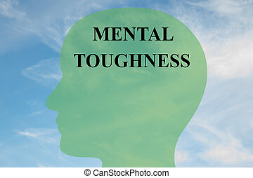 Mental Toughness concept - Render illustration of Mental...