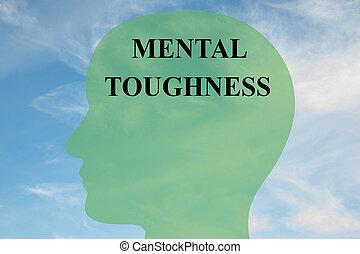Mental Toughness concept - Render illustration of Mental...