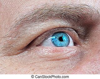 eye men  human  close-up