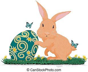 Rabbit hold easter egg
