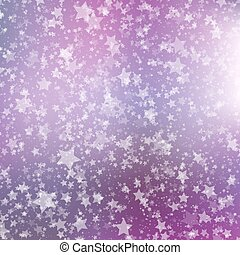 Falling Snow Background. Abstract Snowflake Pattern.