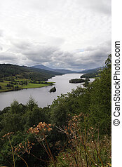 The Queens View - Perthshire - View out over Loch Tummel...
