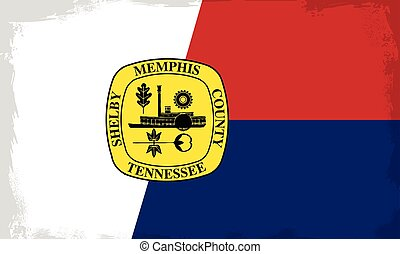 Memphis City Flag - The flag as adopted by the city of...