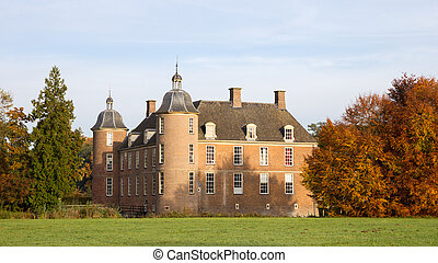 Slangenburg castle - Slangenburg Castle near Doetinchem, The...