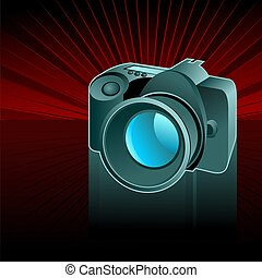 camera,this illustration may be useful as designer work
