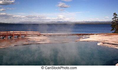 Black Pool in Yellowstone