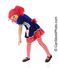 Floppy Living Rag Doll - An adorable, floppy, living rag...