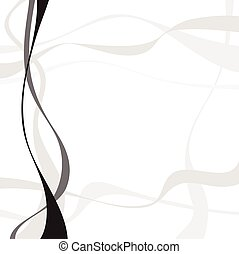 Abstract art vector Abstract background with curvy, curved...