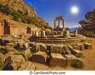 Grécia,  Tholos,  Delphi