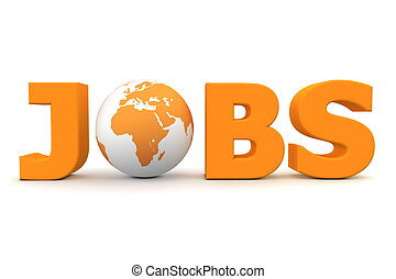Jobs World Orange