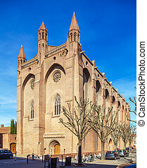 Romanic Church Saint Sernin, Toulouse - Basilica of St...