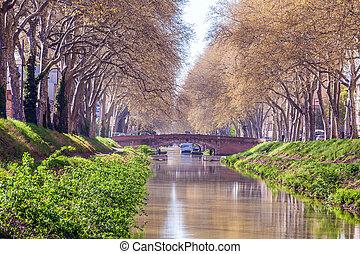 Canal de Brienne, Toulouse, France