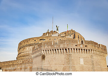 Castel Sant Angelo of Rome - The Castel Sant Angelo situated...