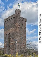 Karnan Keep in Helsingborg - The ancient medieval...