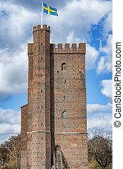 Karnan Fort in Helsingborg - The ancient medieval...