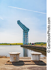 Titan Crane in Clydebank - The large Titan crane that sits...