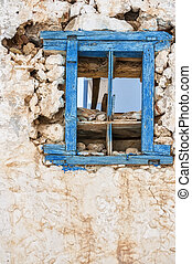 Makrygialos House Ruin - One of the abandoned houses in the...