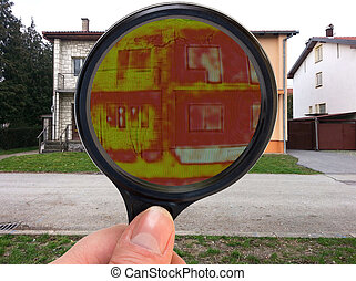 Magnifying Glass Infrared - Infrared Thermal Imaging...