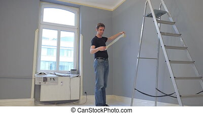 man frustrated with his work - man showing frustration with...