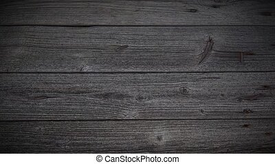 Loopable background animation of wooden planks. Camera moved