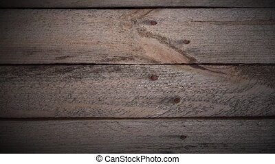 Loopable background animation of wooden planks Camera moved