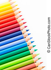 Difference of colour pencil
