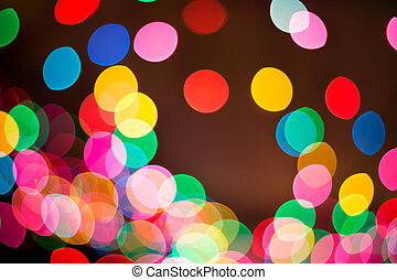 Blur light bokeh abstrac background