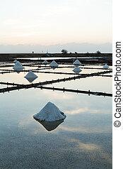 Salt pans in Tainan