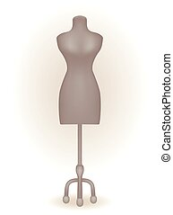 Mannequin for womens clothing