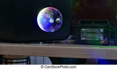 bokeh background light disco laser beams - bokeh background...