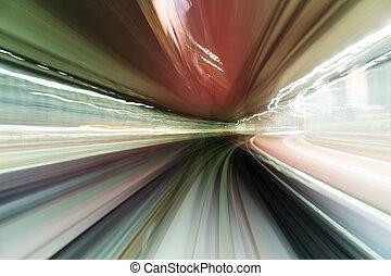 alto, velocidad, train, ,